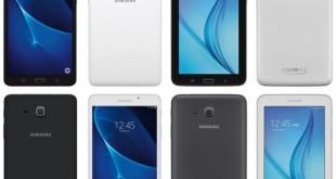 أحدث صورة لـ Samsung Tab A و Samsung Tab E