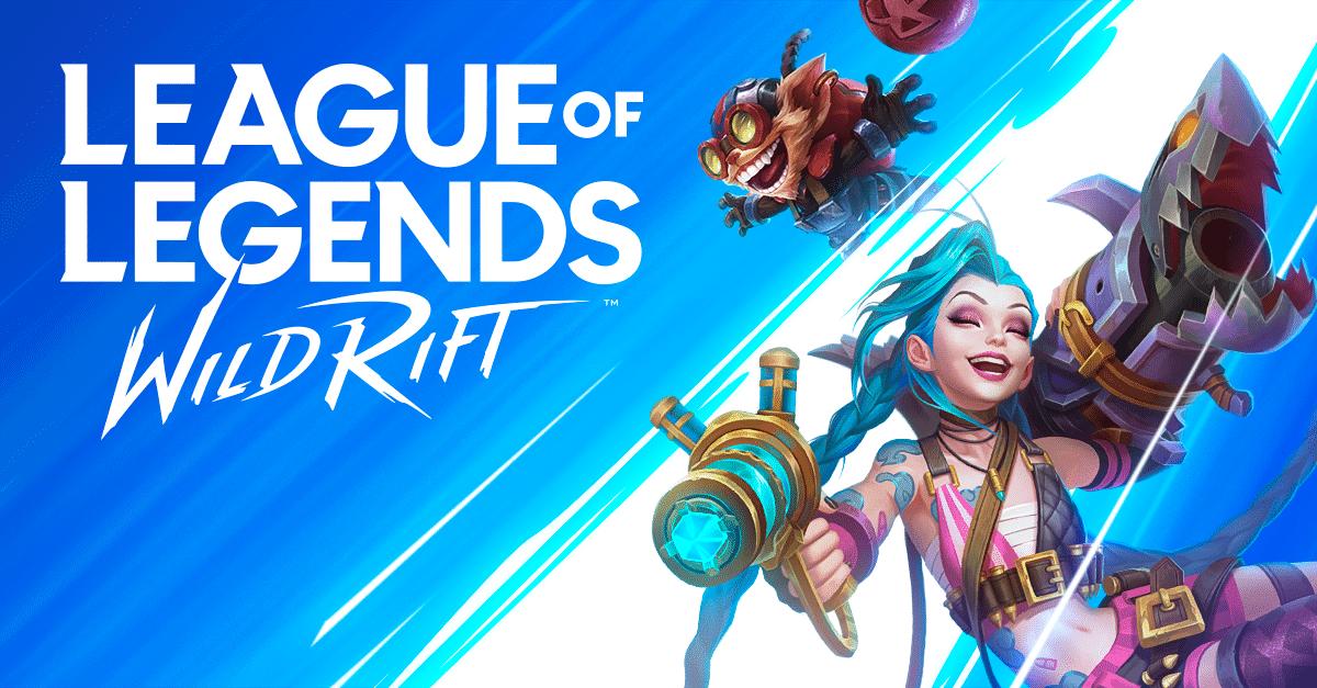 لعبة League of Legends Wild Rift
