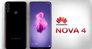 هواوي تستعرض جديدها بهاتف Huawei Nova 4 بكاميرا مدمجة مع الشاشة